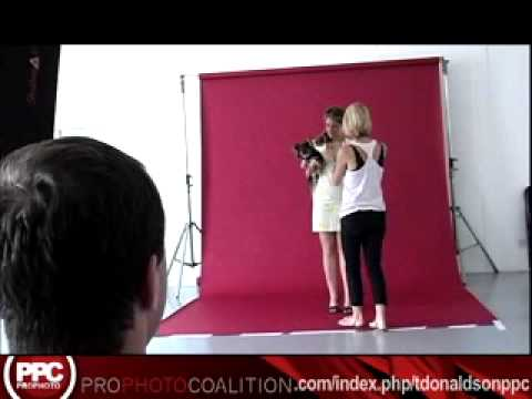 Clementine Ford photo shoot - Behind The Scenes photo shoot