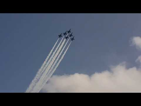 Blue Angels video #5 August 30 2015