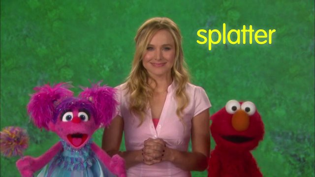 "Sesame Street: Word on the Street ""Splatter"""