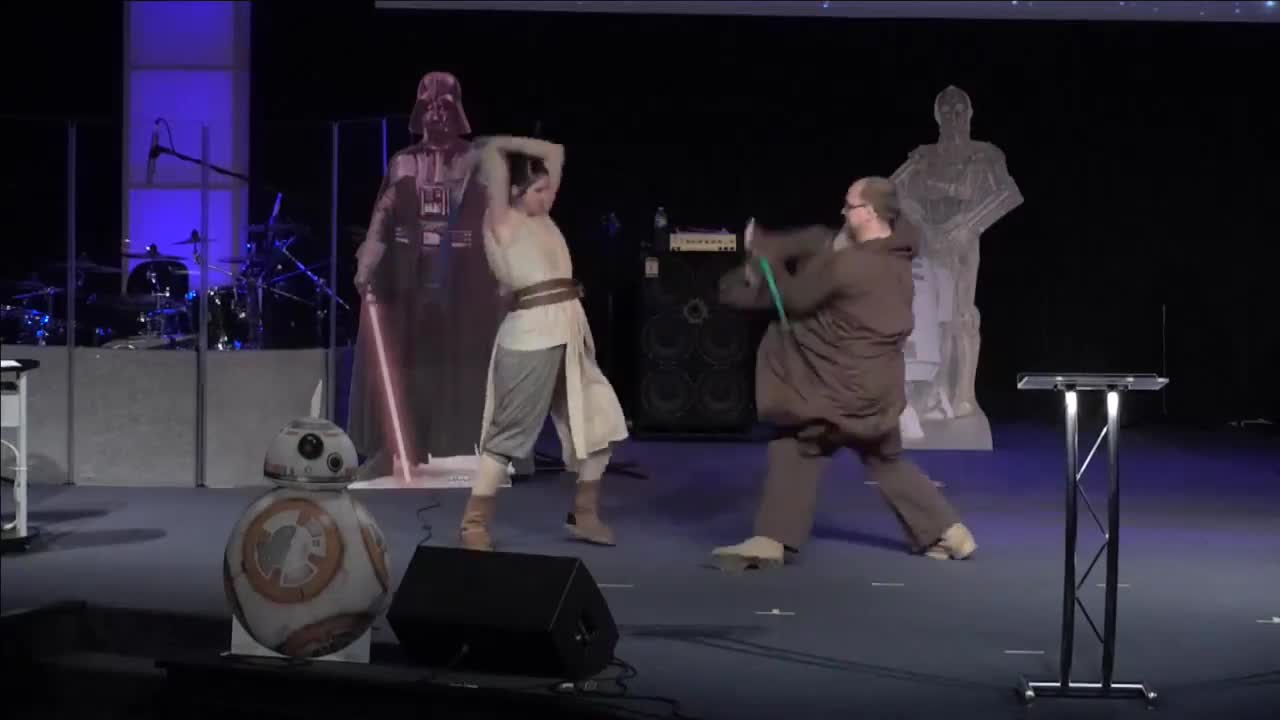 Star Wars The Force Awakens Fan Sketch- Living Hope Church