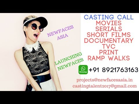 You Tube Channel - Newfaces Asia - projects@newfacesasia.in