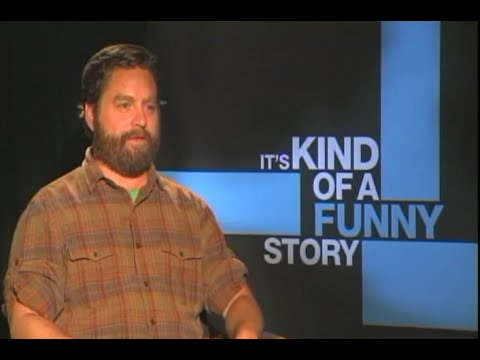 Hilarious Zach Galifianakis with Chase Whale
