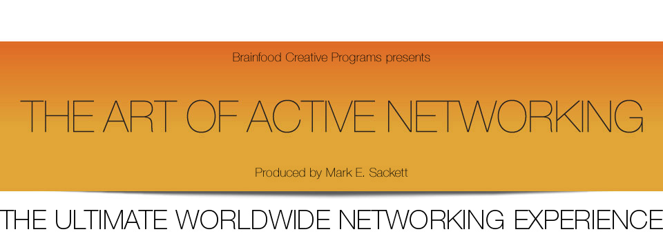THE ART OF ACTIVE NETWORKING, SILICON VALLEY August 31, 2015