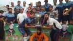 PESCO football team along woth Trophy