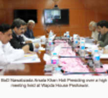 High Level Meeting Regarding Pesco's Net Metering SOP headed by Chairman BOD, Mr. Nawabzada Arsala Khan Hoti