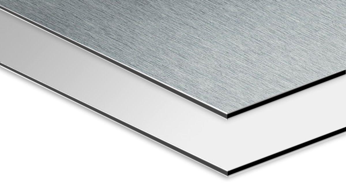 stampa su alluminio base bianca o spazzolata