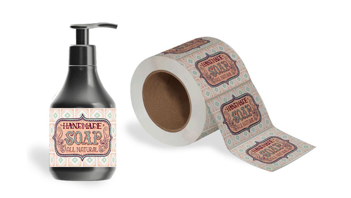 stampa etichette adesive in plastica
