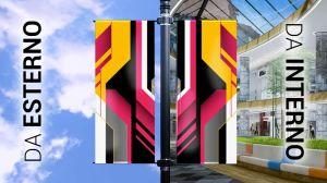stendardi pubblicitari personalizzati da esterno e da interno