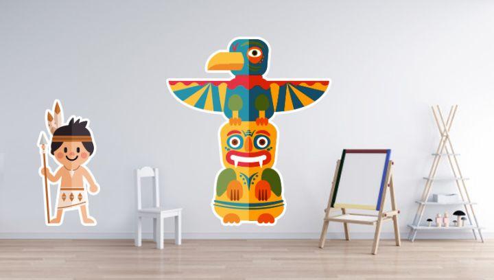 adesivi murali personalizzati per arredare le pareti
