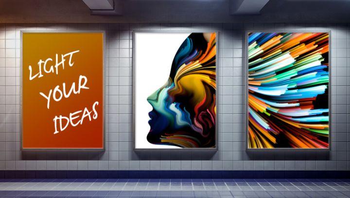insegne luminose stampa plexiglass opalino