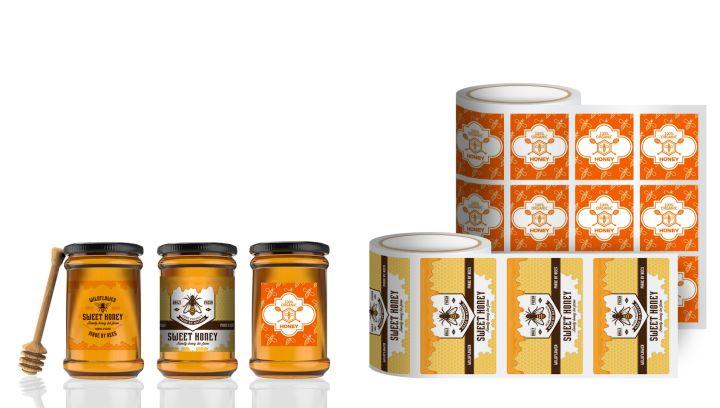 etichette per miele
