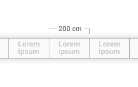 Modulo da 200 cm