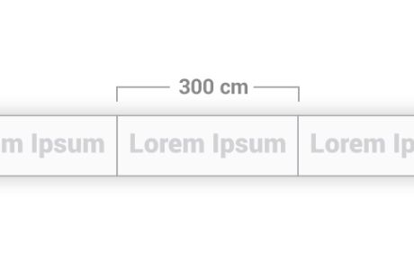 Modulo da 300 cm