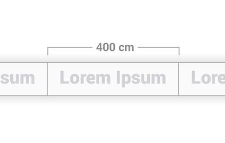 Modulo da 400 cm