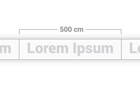 Modulo da 500 cm