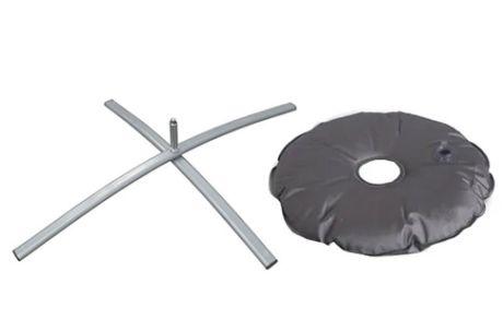 Croce pieghevole 2 kg + Ciambella zavorrabile fino a 8 kg