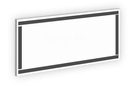 Magnetico perimetrale sul retro