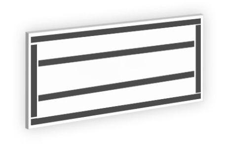 Magnetico perimetrale rinforzato sul retro