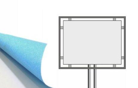 300x200 cm stampa carta blueback 115 gr.