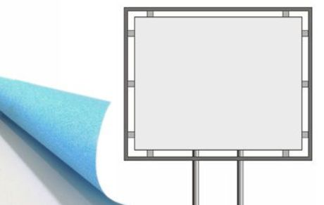400x300 cm stampa carta blueback 115 gr.
