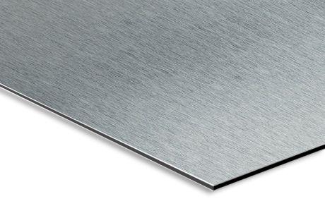 Alluminio Spazzolato 3 mm