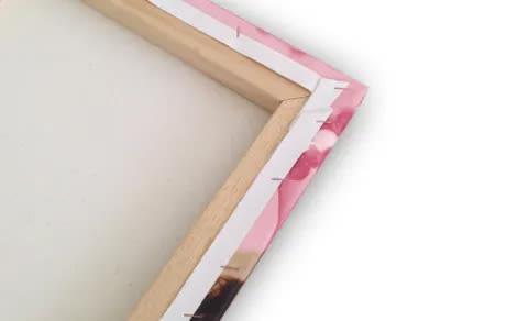 Canvas + Telaio spessore 2,5 cm