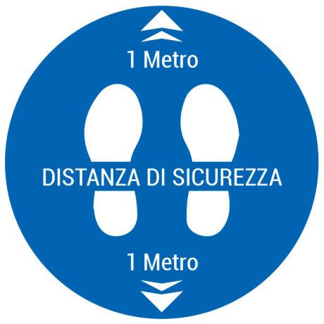 Cerchio distanza 1 m