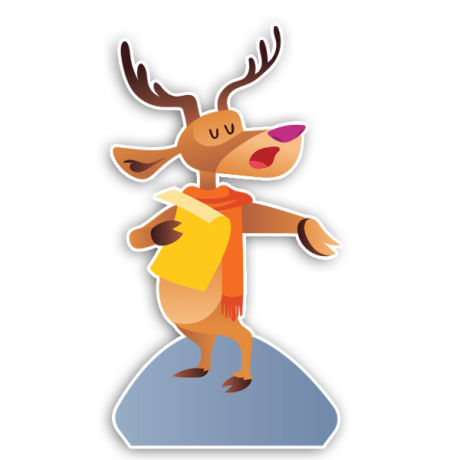 Reading Deer