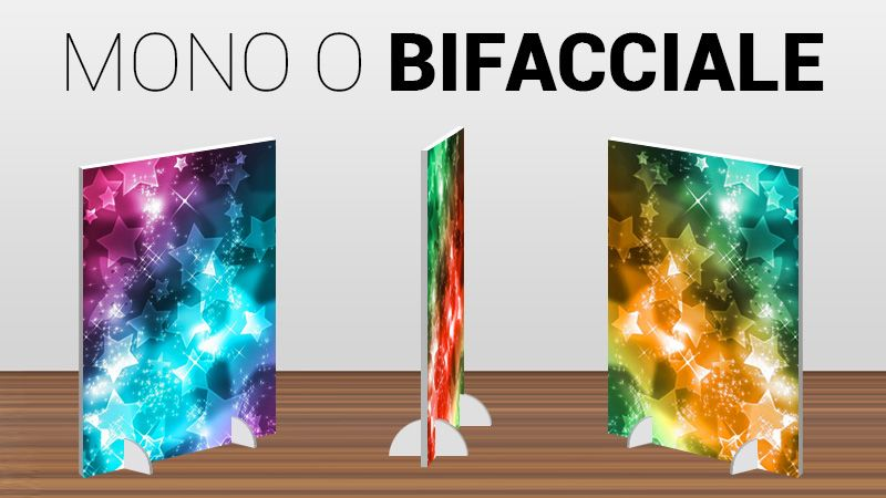 espositore display stand up stampa personalizzata
