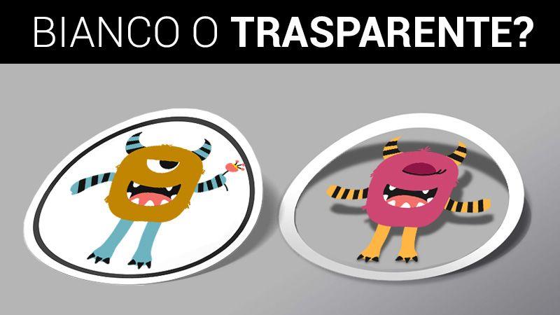 acquista etichette adesive e stickers online