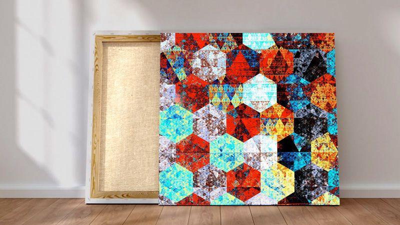 stampa tela canvas su telaio in legno