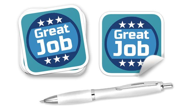 stickers stampa personalizzata
