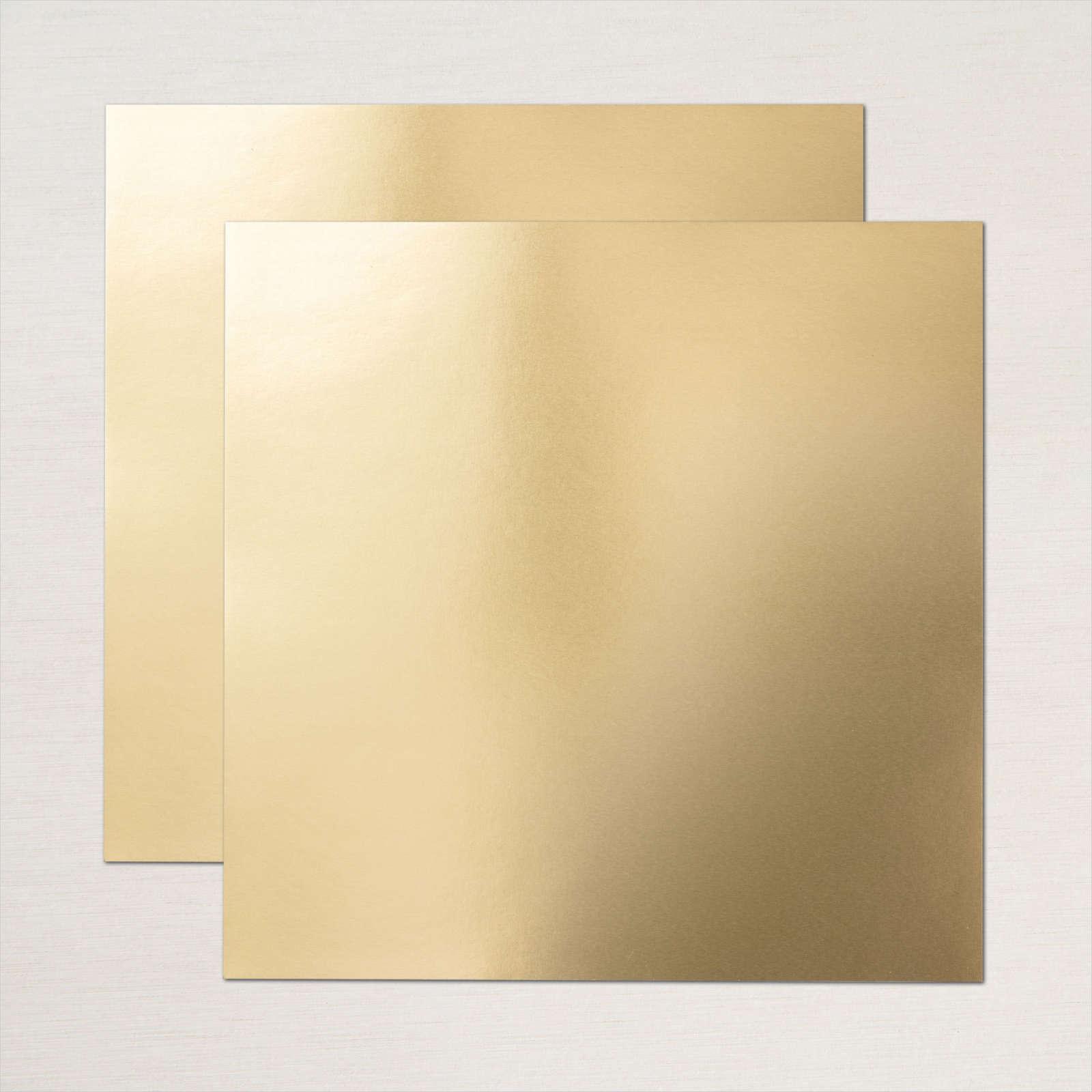 METALLIC-FOLIENPAPIER IN GOLD