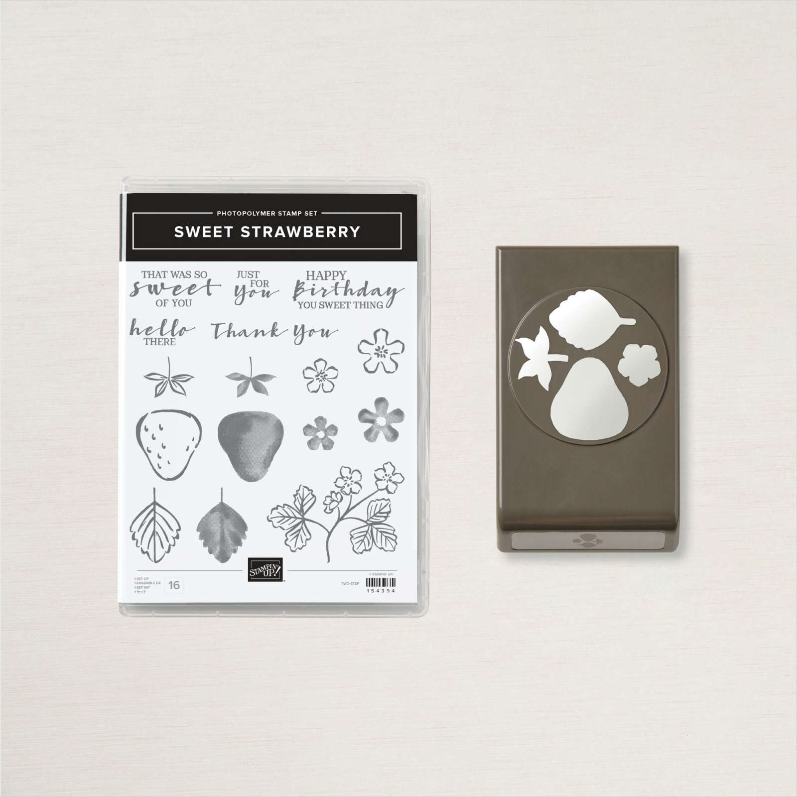 Stampin' Up! - SWEET STRAWBERRY BUNDLE (ENGLISH)