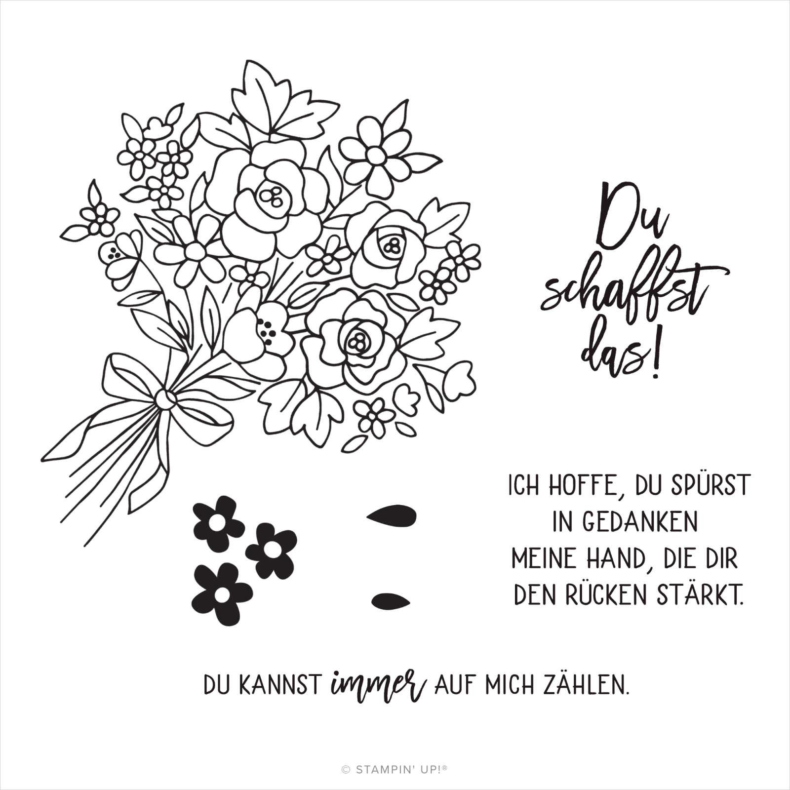 SET PAPER PUMPKIN BLUMEN DER FREUNDSCHAFT (DEUTSCH)
