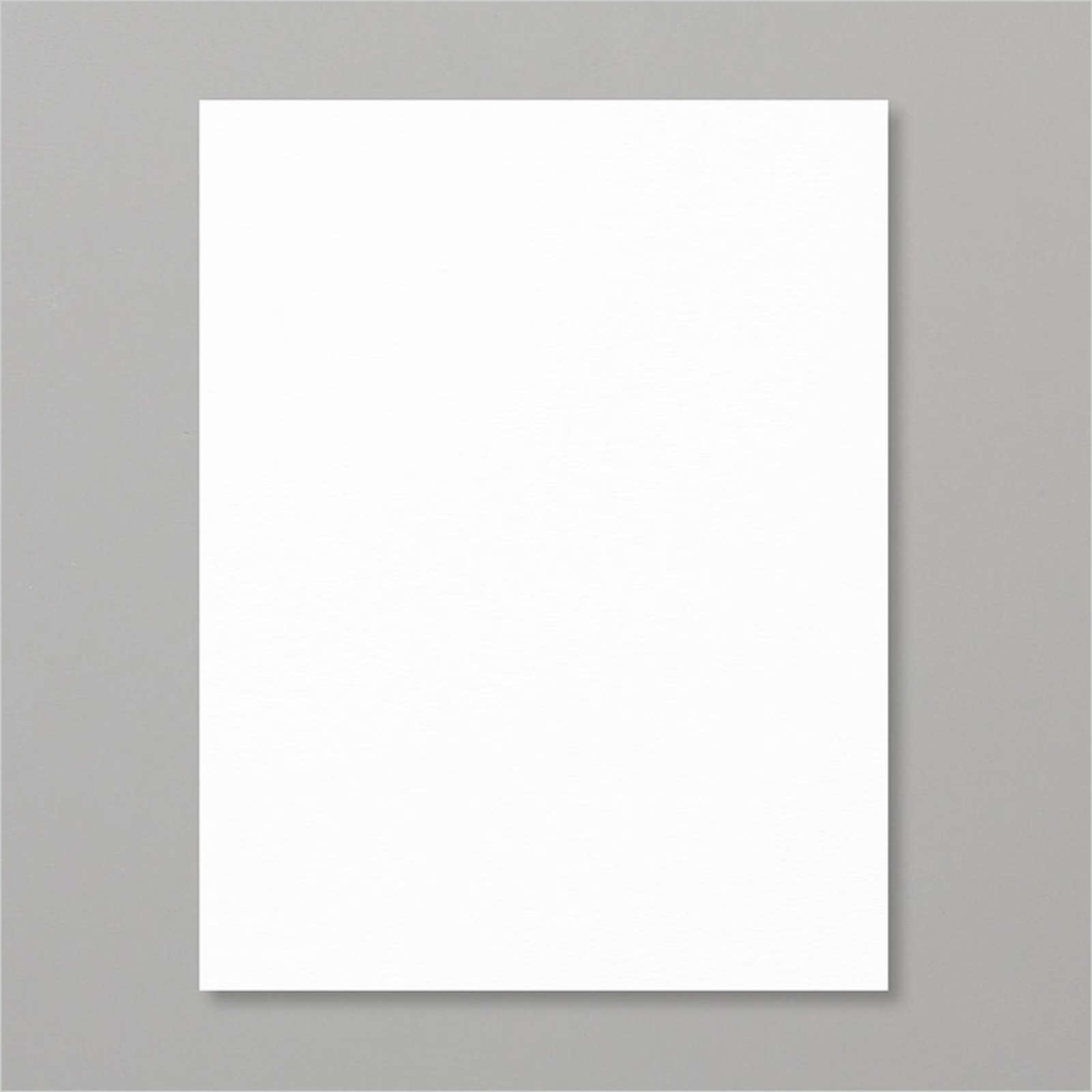 "WHISPER WHITE 8-1/2"" X 11"" CARDSTOCK"
