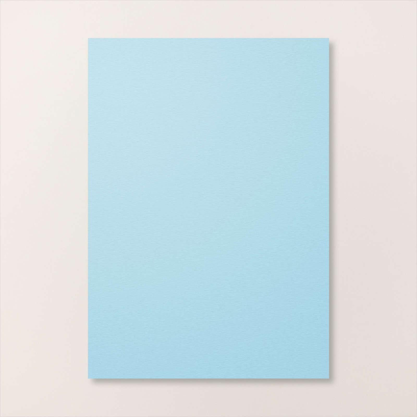 BALMY BLUE A4 CARDSTOCK