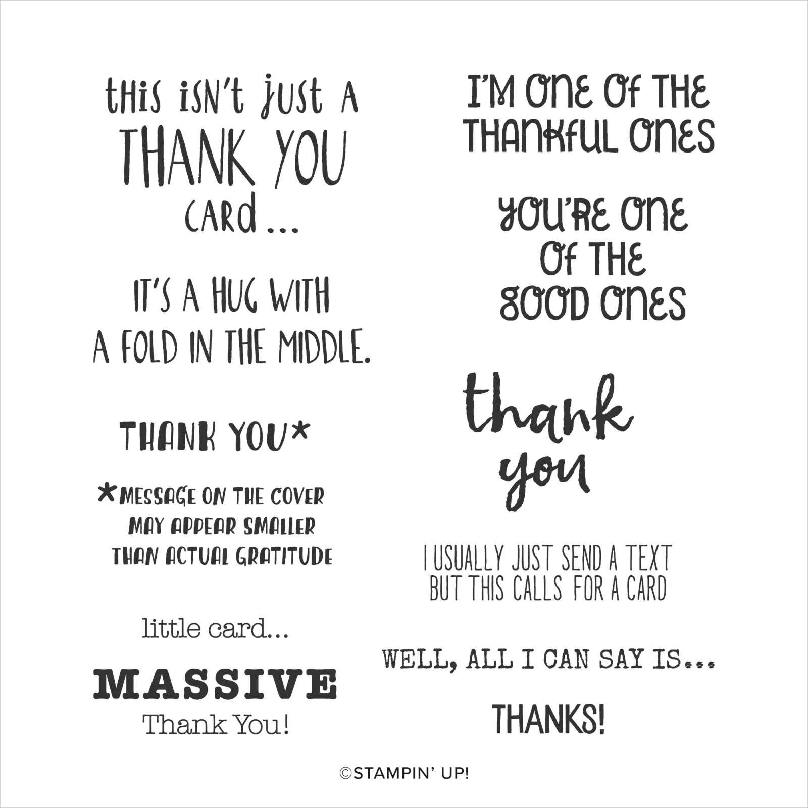 CLINGSTEMPELSET MASSIVE THANKS