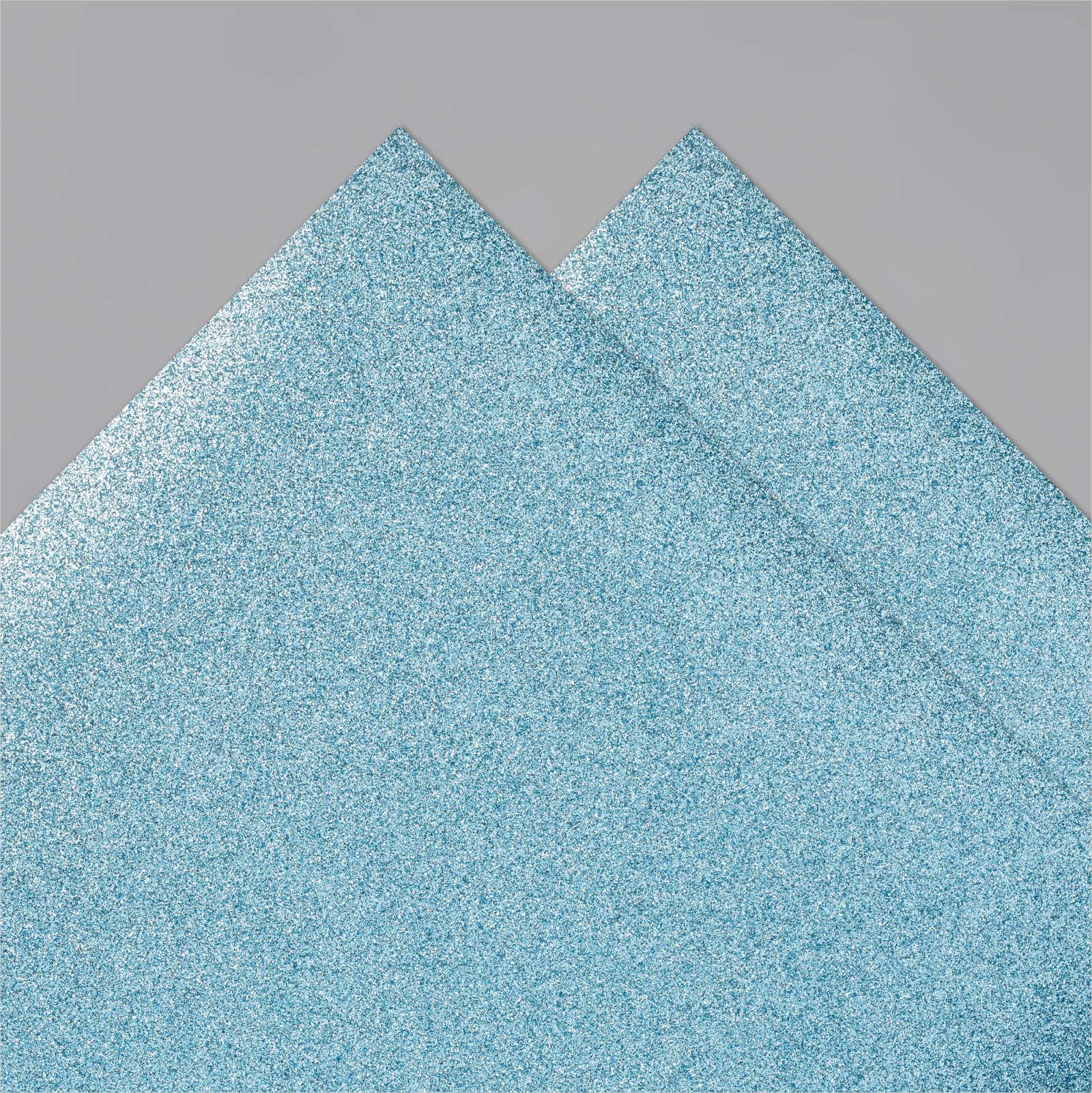 BALMY BLUE GLIMMER PAPER