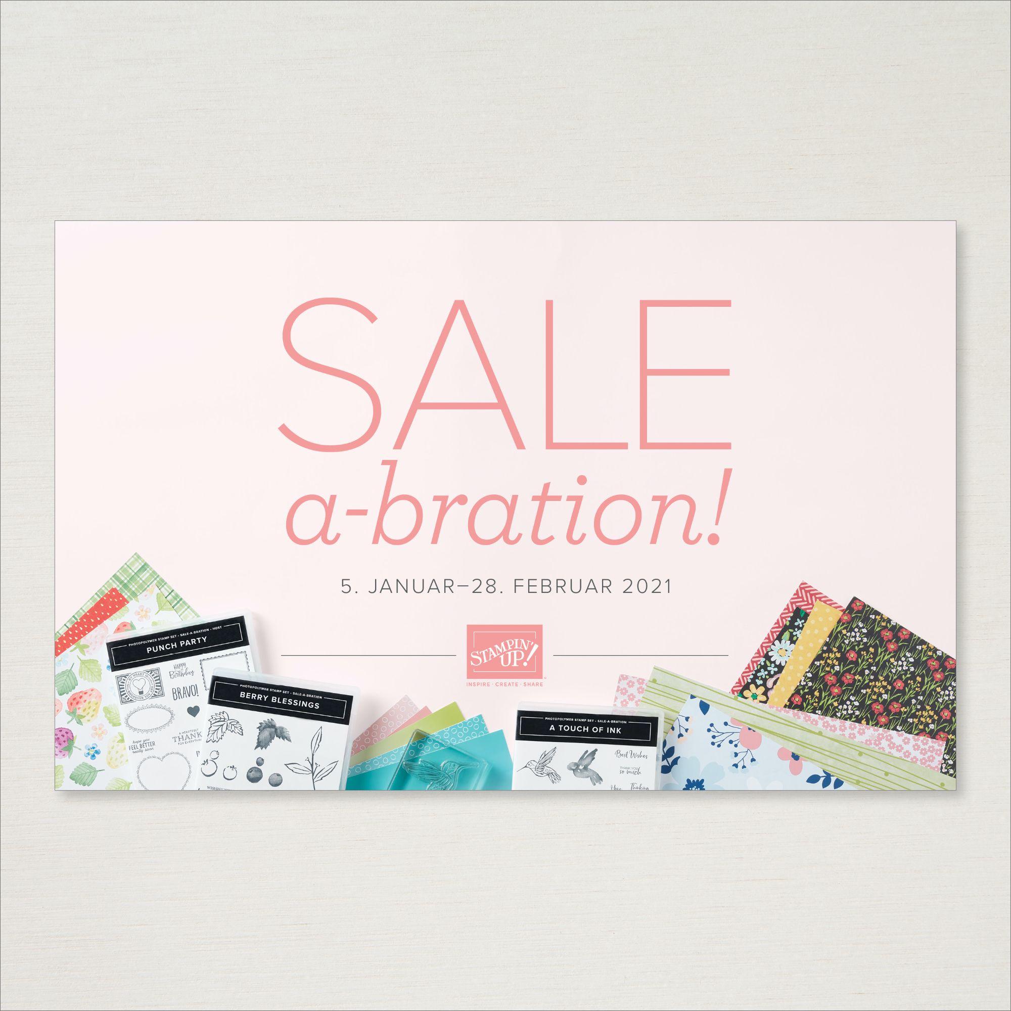 Sale A Bration Bröschüre 5. Januar–28. Februar 2021