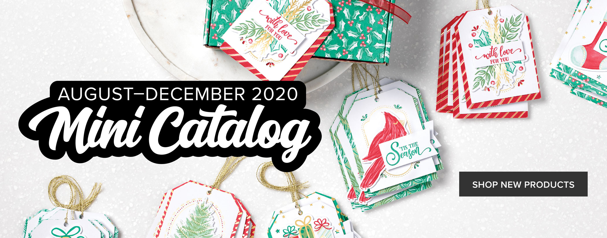 August-December 2020 Mini Catalog