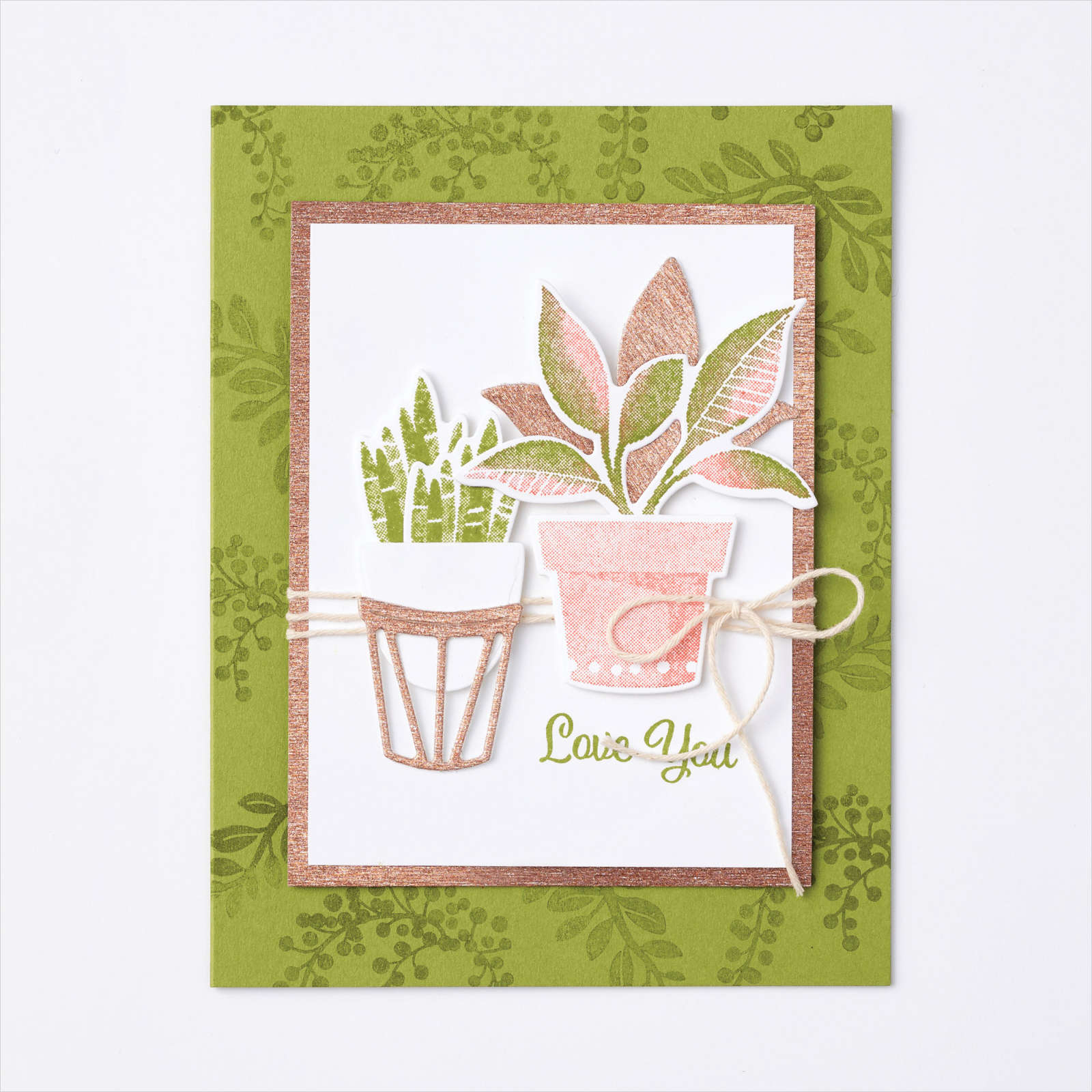 BLOOM WHERE YOU'RE PLANTED SUITE - Peachy Day Card