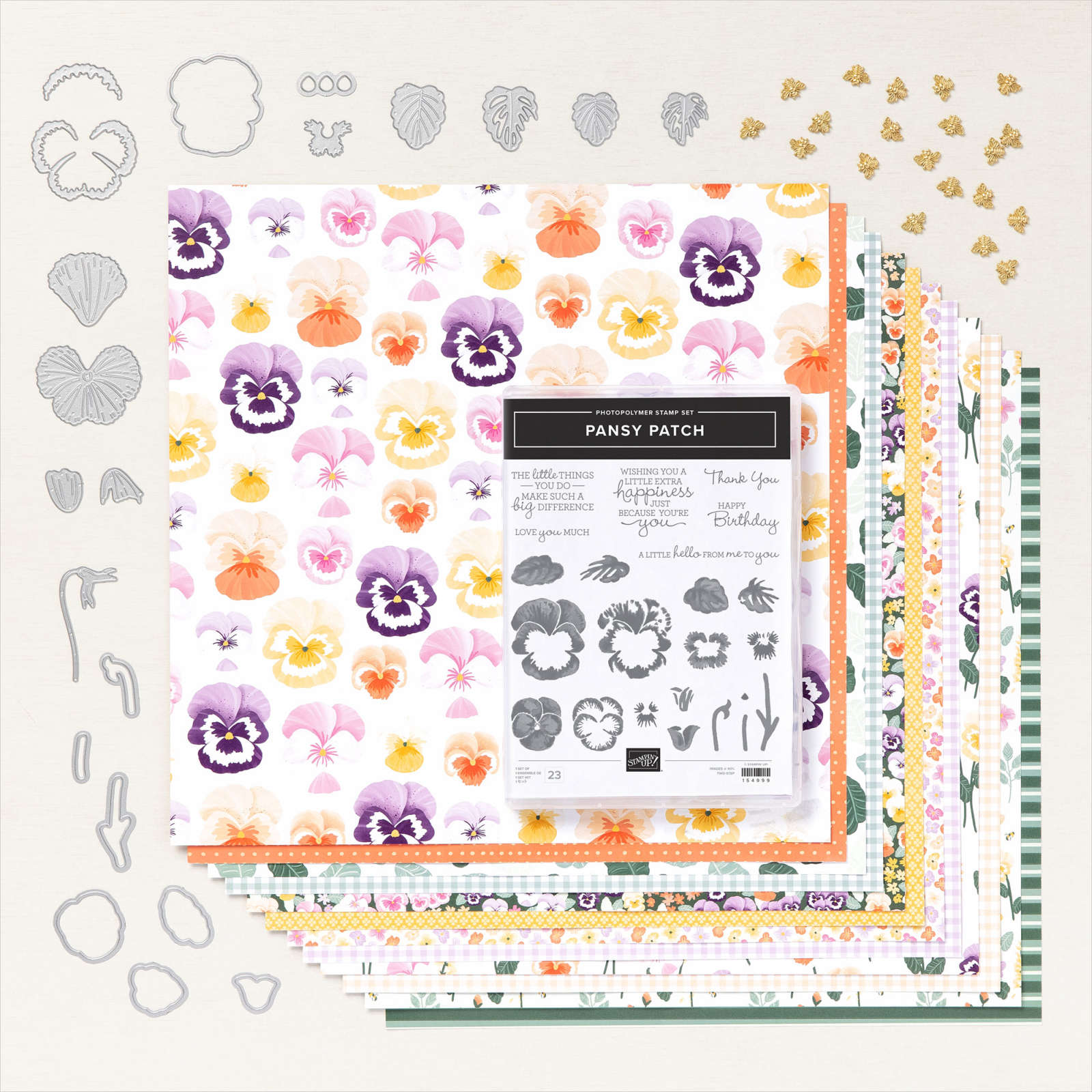 PANSY PETALS SUITE COLLECTION #155810