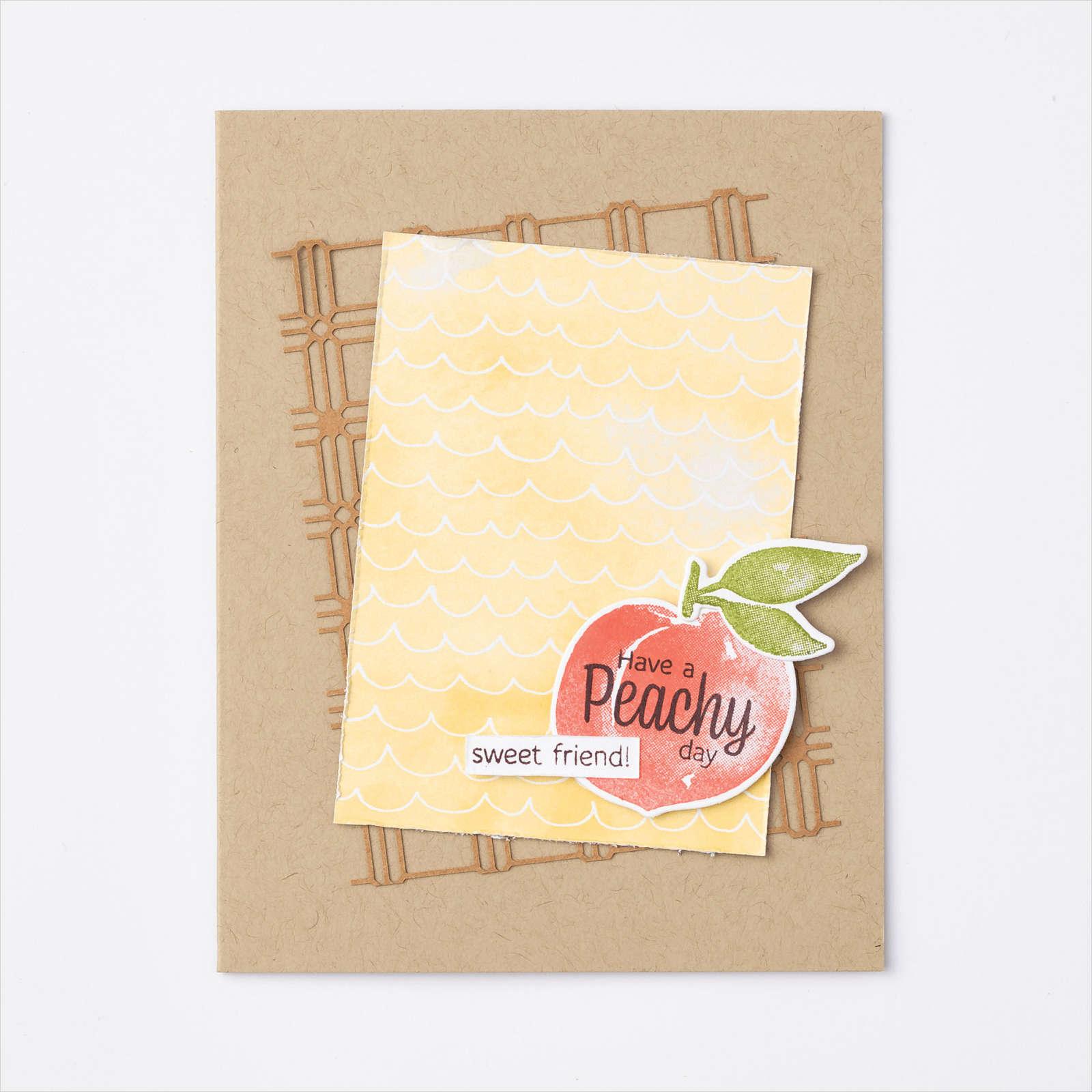 YOU'RE A PEACH SUITE - Peachy Day Card