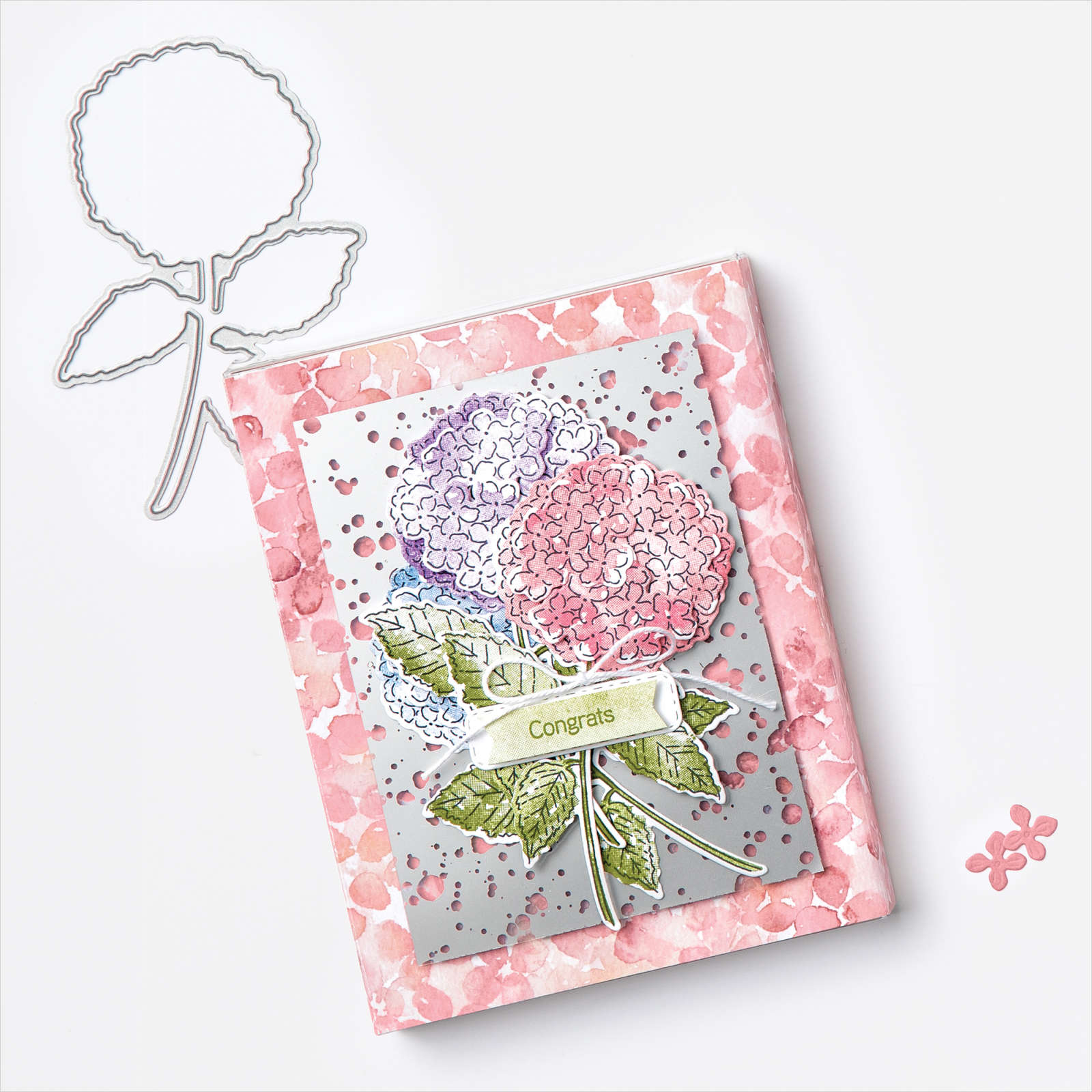 Hydrangea Hill Card/Gift Box