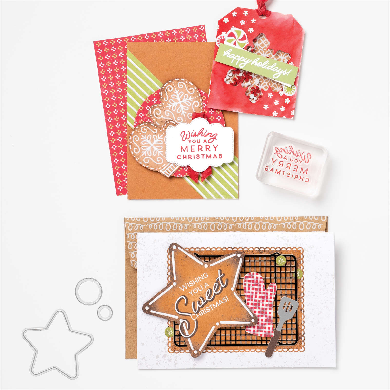 August-December 2021 Mini Catalog - Gingerbread & Peppermint Suite