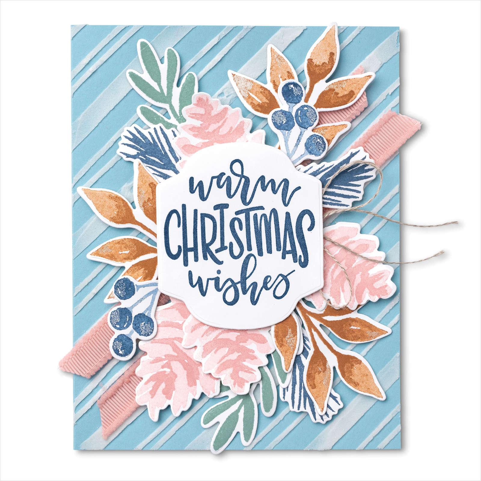 July-December 2021 Mini Catalog - Pastel Christmas Season Card