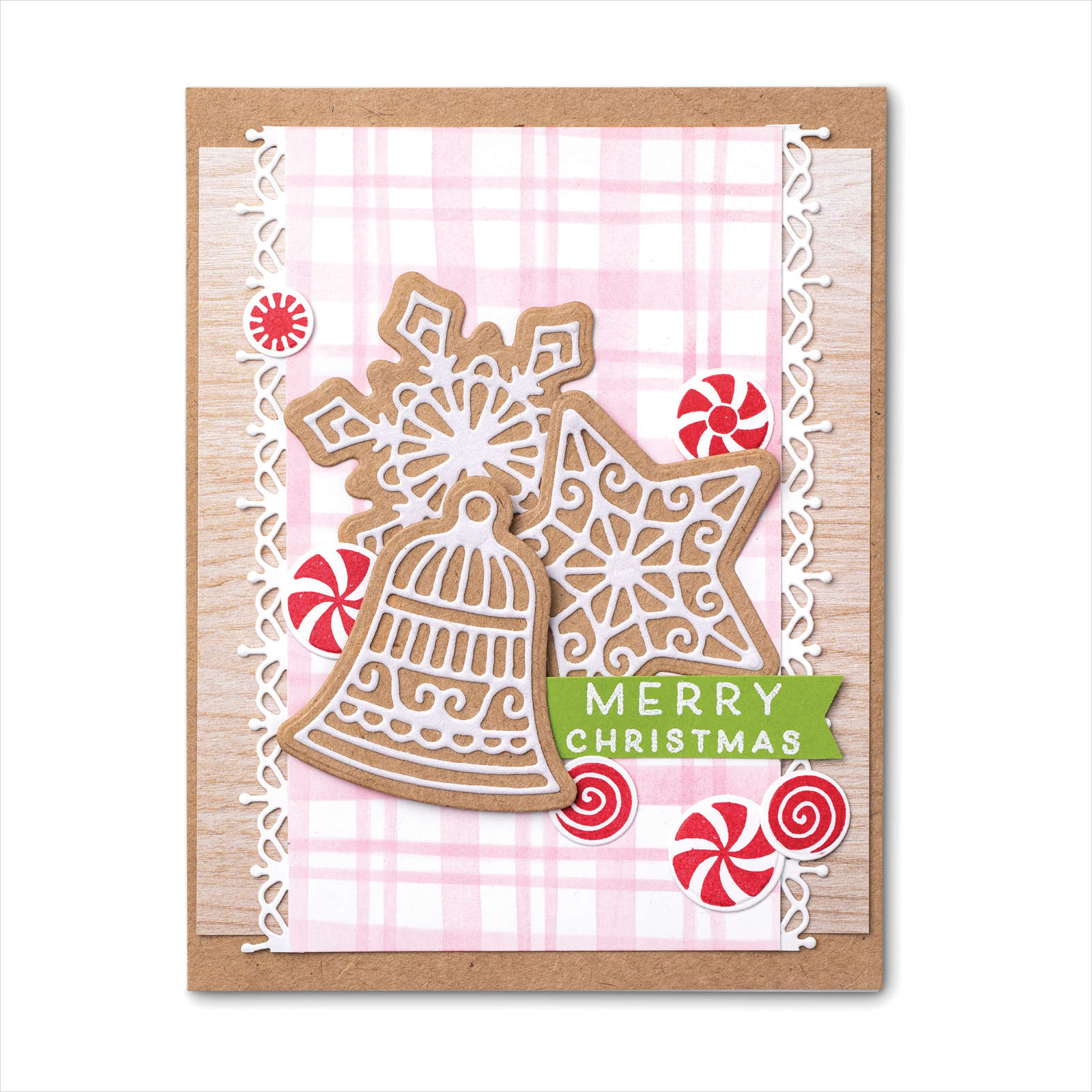 August-December 2021 Mini Catalog - Frosted Gingerbread & Peppermint Card