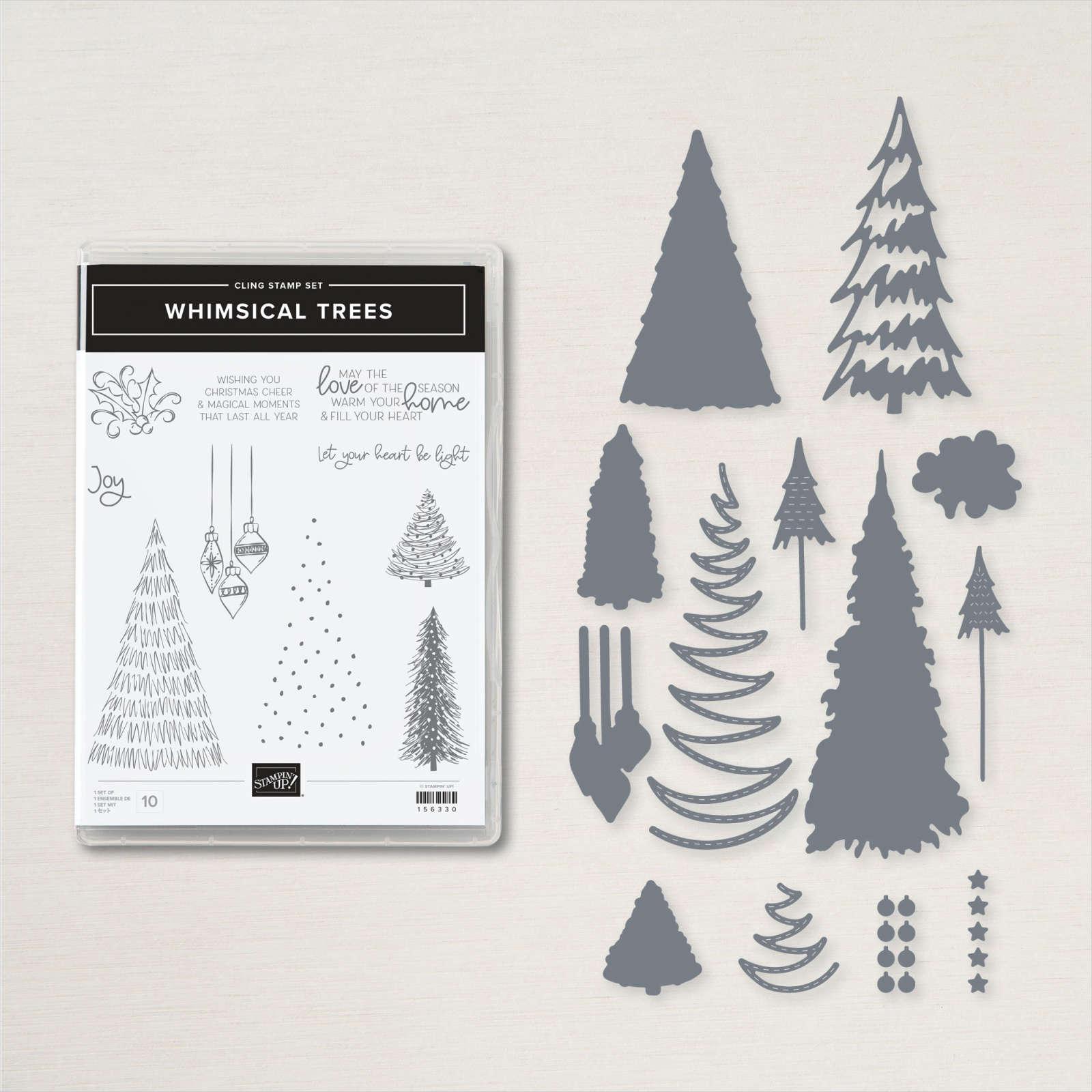 Whimsical Trees Bundle #156810