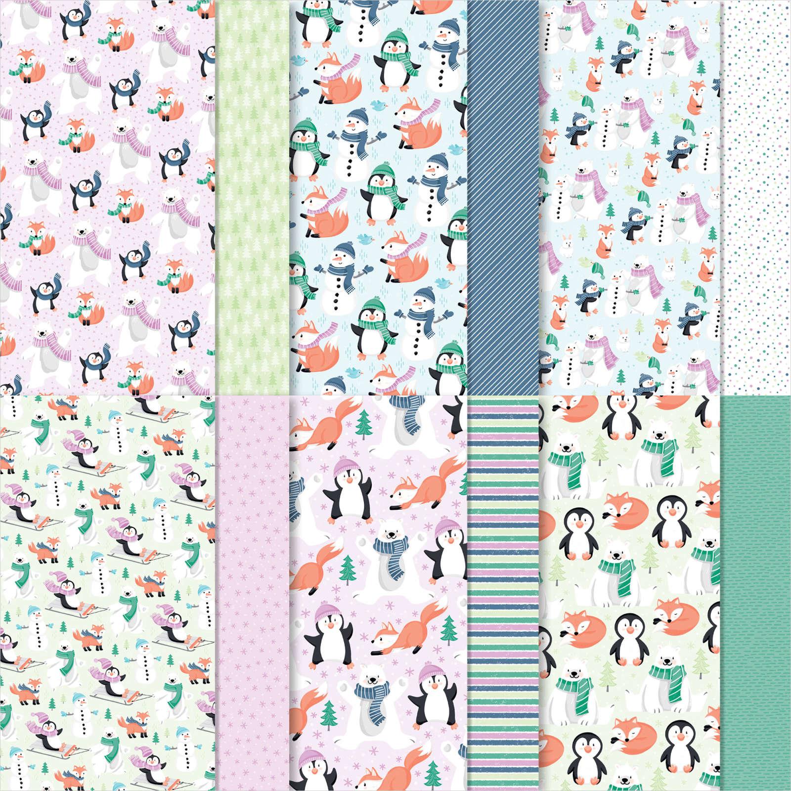 Penguin Playmates Designer Series Paper (Sale-a-Bration) #158420